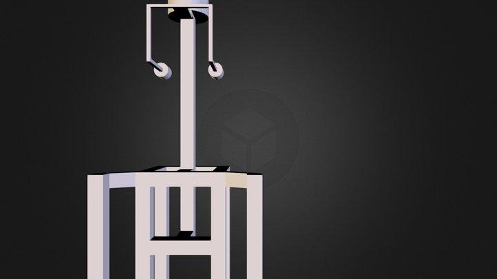 Sac à dos Open Street View - début de réflexion 3D Model
