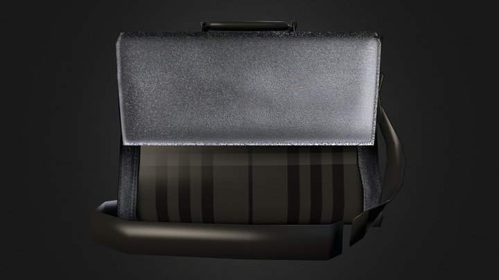 Beat Check briefcase 3D Model