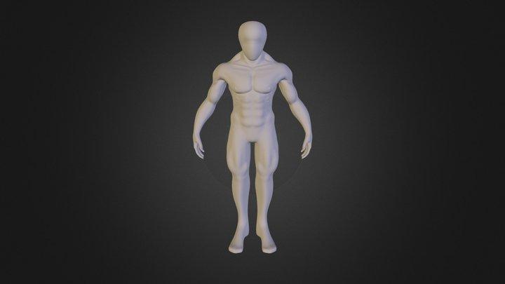 muscular_male_basemesh 3D Model