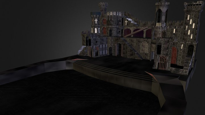 born this way stage (viewer 2) 3D Model