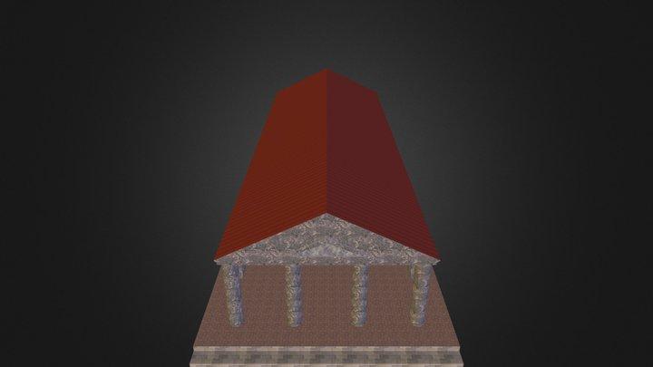 Tempelamphiprostylos.kmz 3D Model