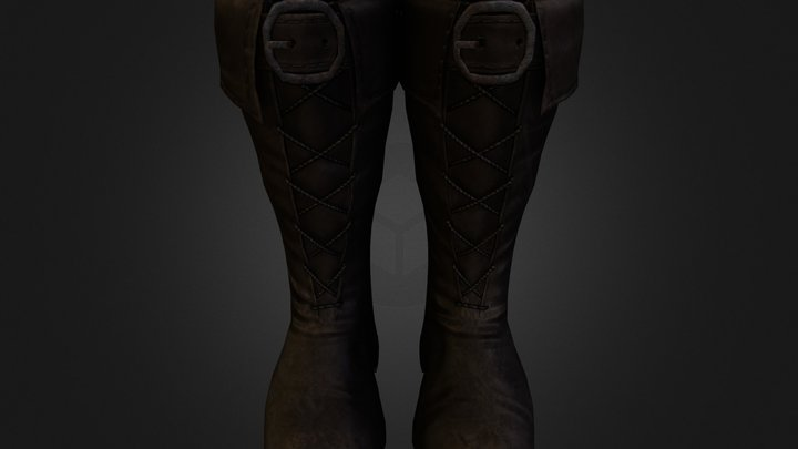 Highguard Boots.obj 3D Model