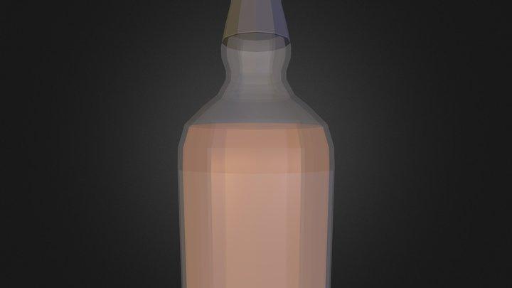 Bottle CHIVAS N300313.3DS 3D Model
