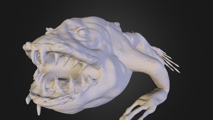Captain Frog 3D Model