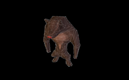 Big Bad Wolf Monster.fbx 3D Model