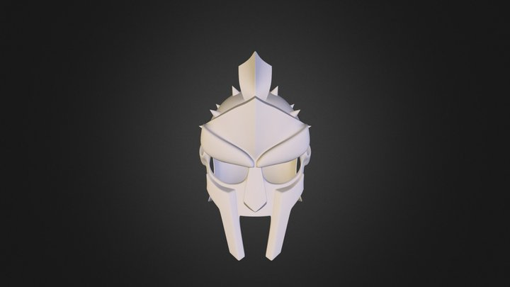 Gladiator helmet 2008Obj 3D Model