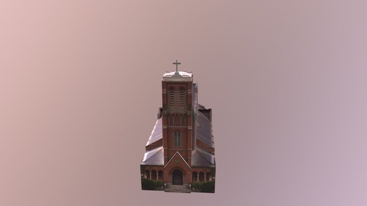 St. Patrick Church, Waterviliet NY 3D Model