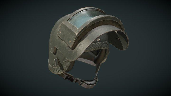 Russian helmet K6-3 3D Model