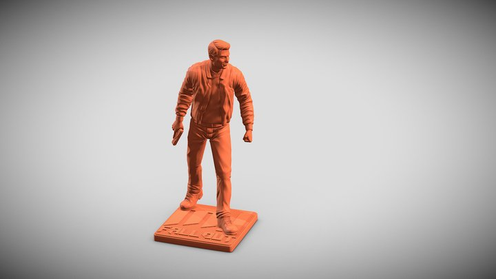 """Ethan """"Mission impossible fallout"""" 3D Model"""