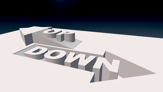 Up ← Down → 3D Model