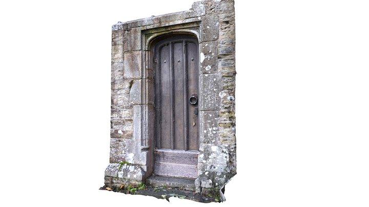 Old Church Door - Cornwall, UK 3D Model
