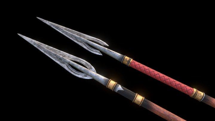 Rohan Spear 3D Model