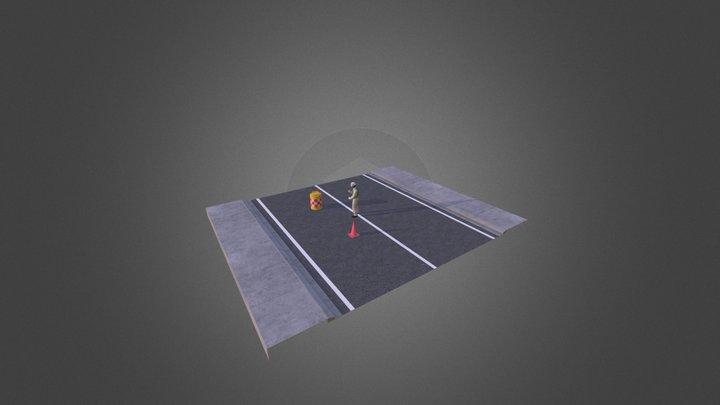test_exo_chara 3D Model