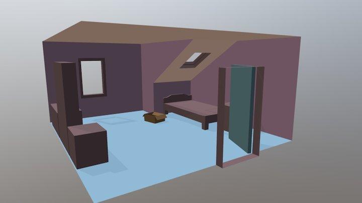 Midge Room 3D Model