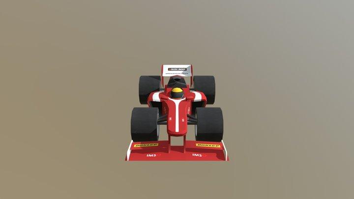 Ferrari F138 3D Model