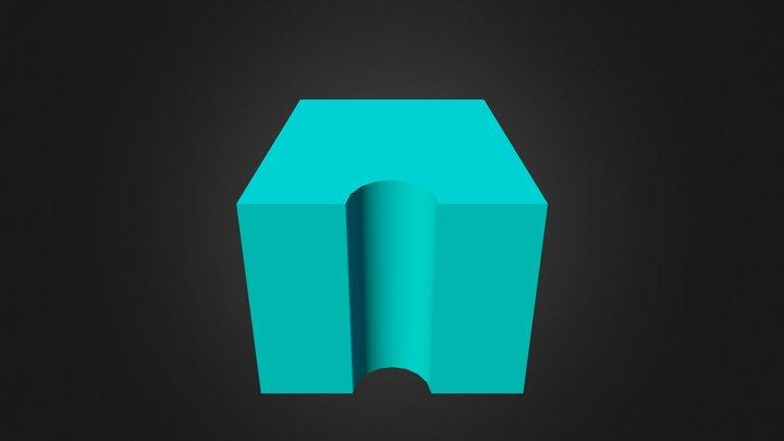 Block 'A' 3D Model