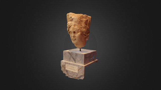 Turreted Bust 3D Model