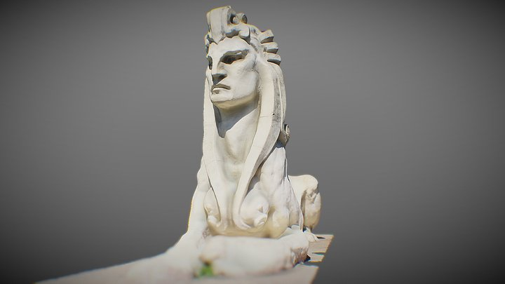 Sphinx in Golden Gate Park 3D Model