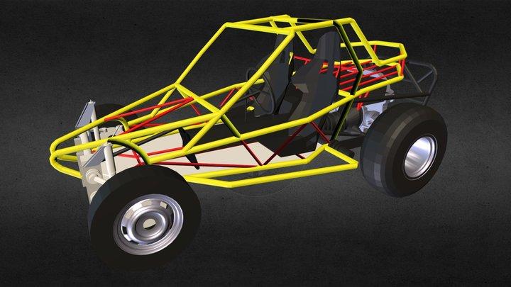 Arenero Tubular Dunaventura Buggy 2.0 3D Model