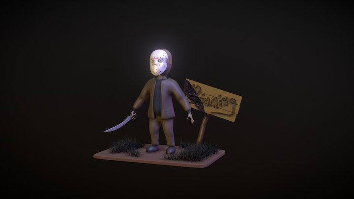 Friday the 13th 3D Model