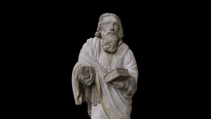Evangelist / apostel babtisteeriumist 3D Model