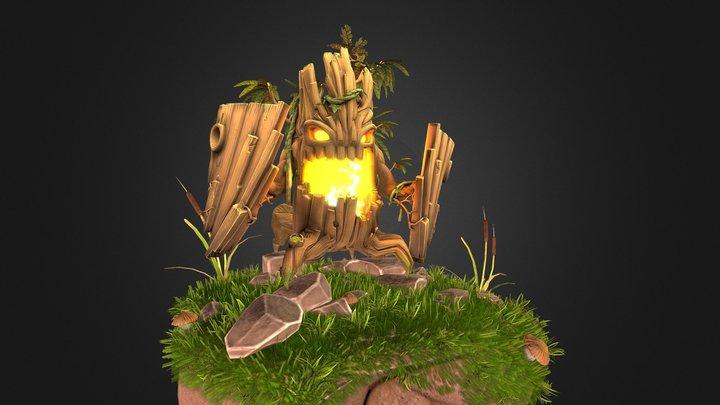 Fiery Ent 3D Model