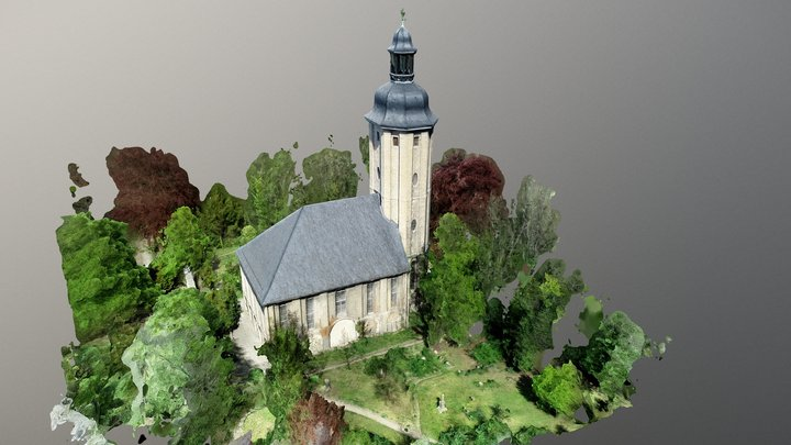 Friedenskirche Jena 3D Model