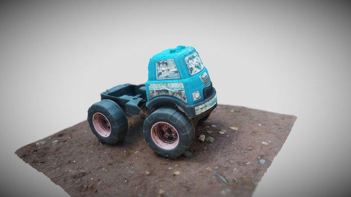 Abandoned Toys Car 3D Model