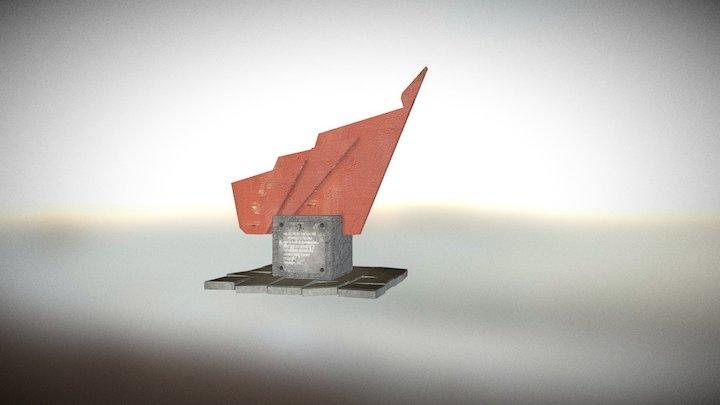 Памятник 3D Model