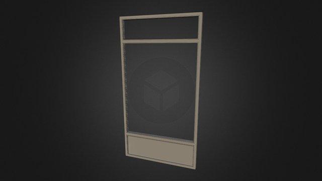Fenêtre Panoramique Alu 3D Model