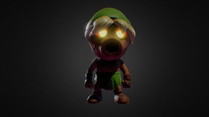 Deku Link - Majora's Mask 3D Model