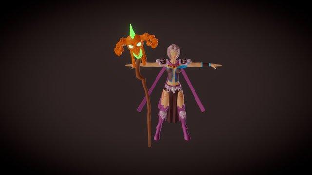 Wizard 3D Model