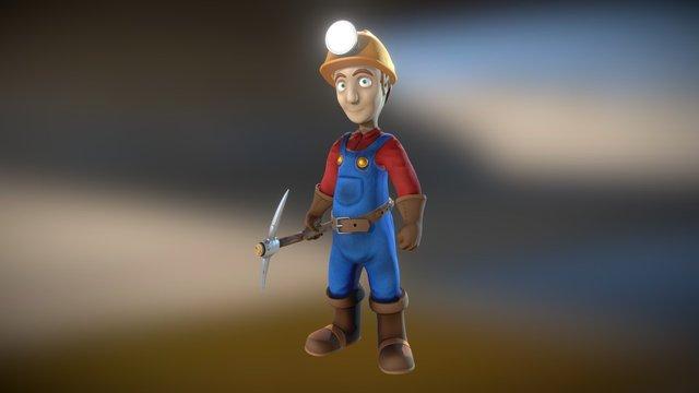 Miner 3D Model