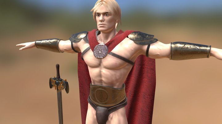 Gladiator 2 3D Model