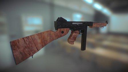 Thompson M1 3D Model