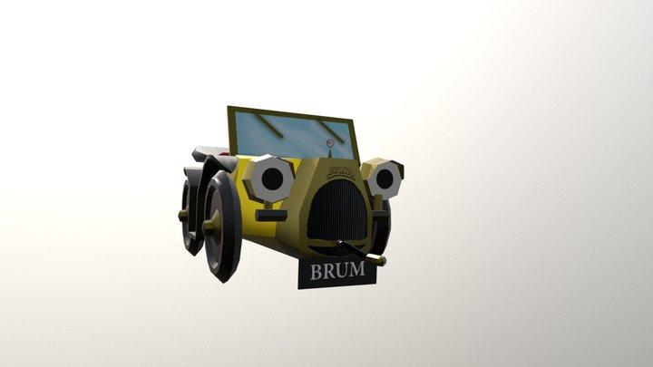 Brum WIP LP 3D Model