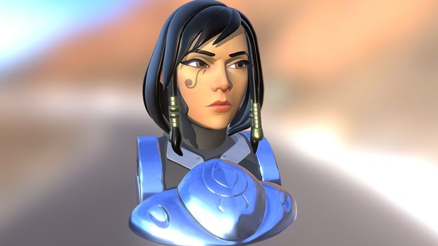 Pharah - Overwatch 3D Model