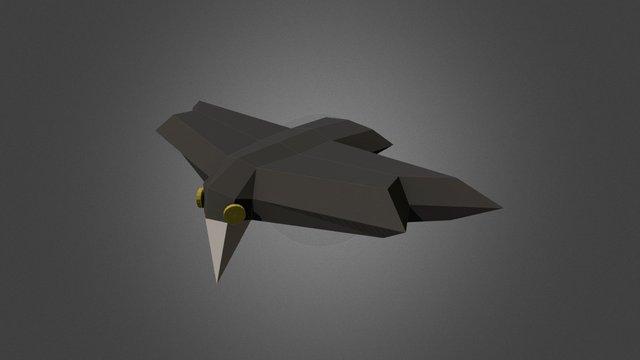 Krähe 01 3D Model