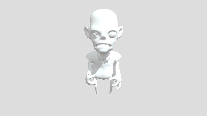 Zombie_Pose 3D Model