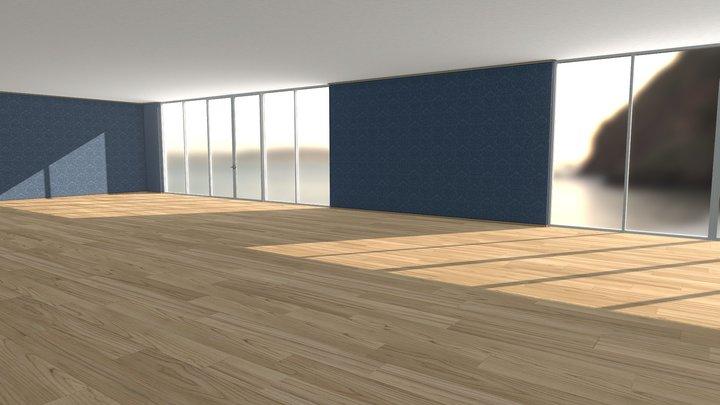 Room Test 001 3D Model