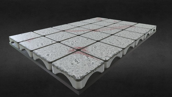Two Hour Dungeon Crawl Room Board 3D Model