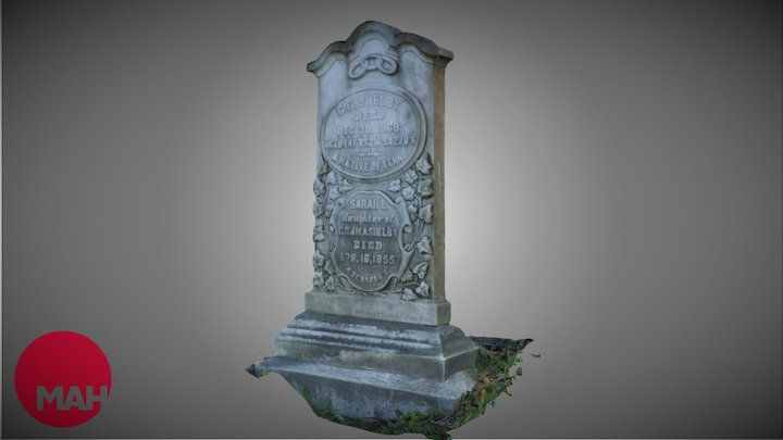 Shelby Tombstone 3D Model