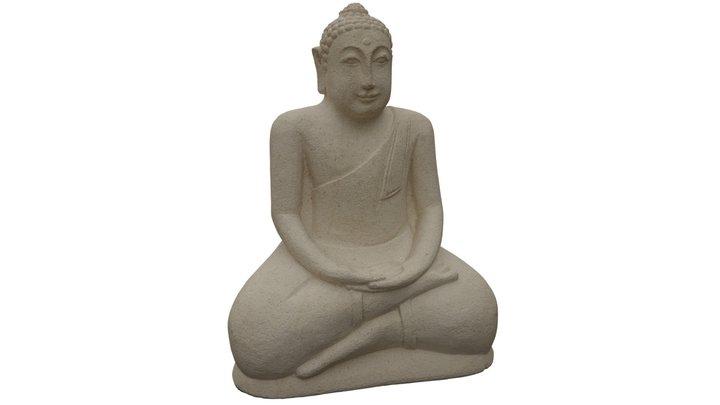 Stone Buddha 3D Model