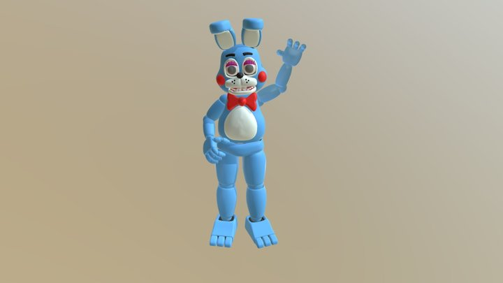Toy Bonnie V3 3D Model