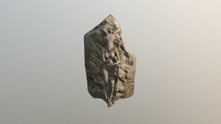statue test 1 3D Model