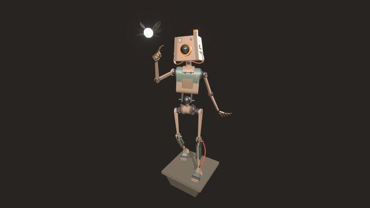 A Curious Robot 3D Model
