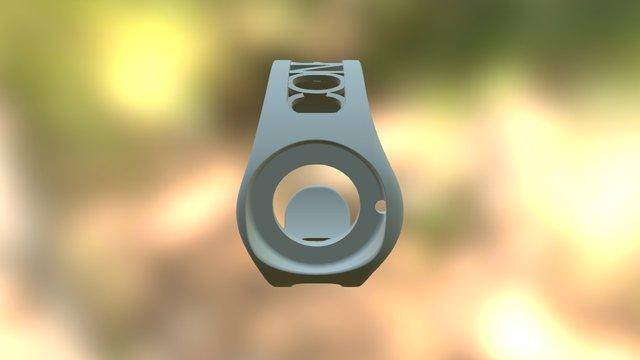 Io Classic Up Hollow White Conrad 3D Model