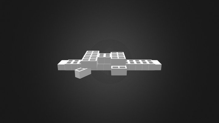 Cocodrilo 2  3D Model