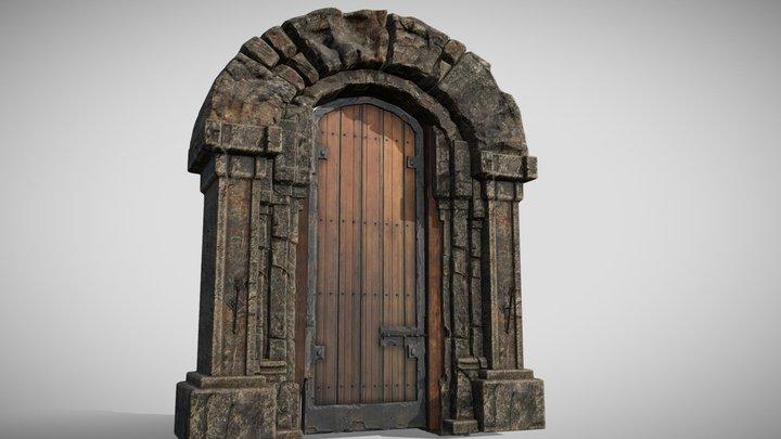 Dungeon Gateway 3D Model