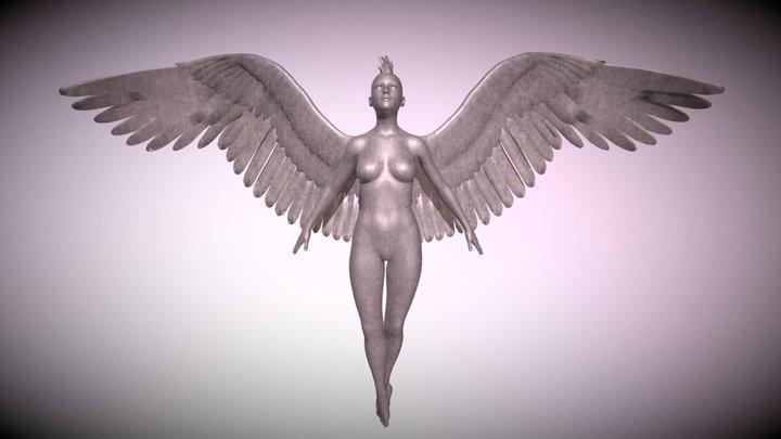 Mohawk Angel 3D Model